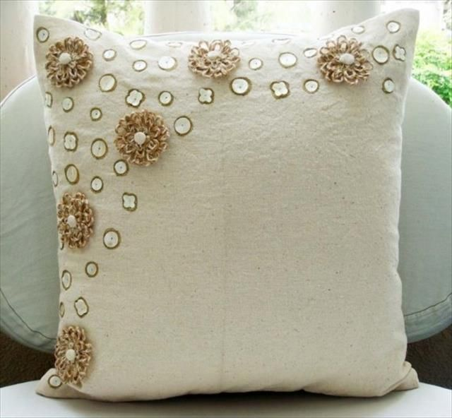10 Diy Ideas Decorative Throw Pillows Amp Cases Jute