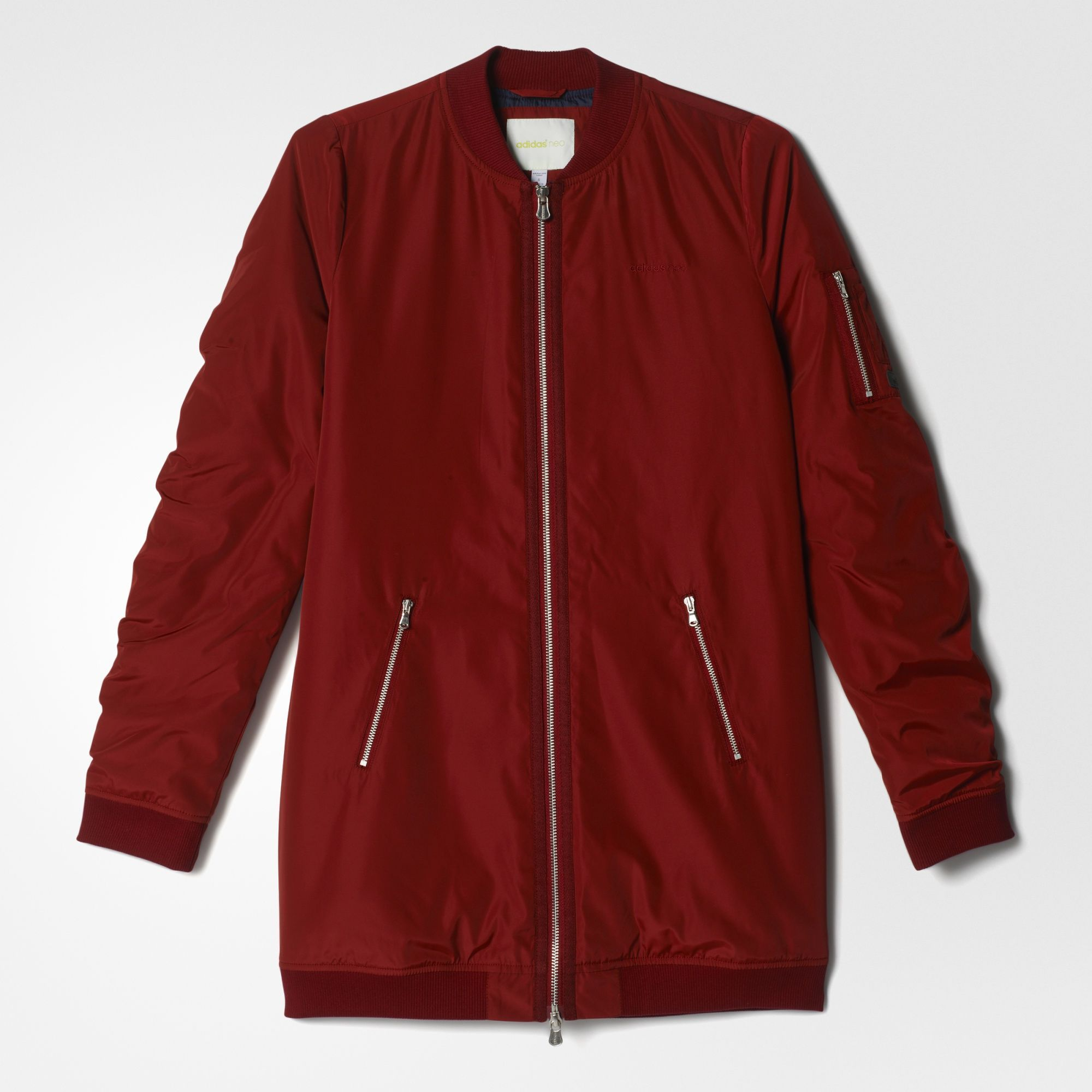 long adidas jacket