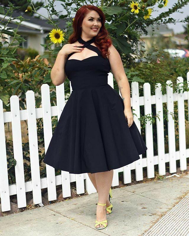 Gigi Marie   Redheads: Curvy & Plus-Size in 2019   Dresses ...
