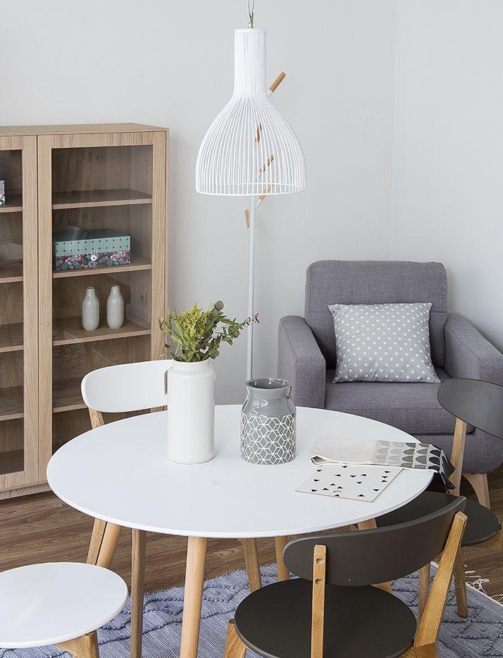 La mesa perfecta para una casa pequeña | Mesas escandinavas ...