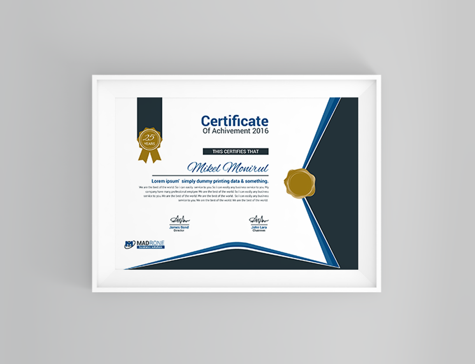 Certificate Templates Templates Retail Business Template Cards 73568 Certificate Ngo Logo