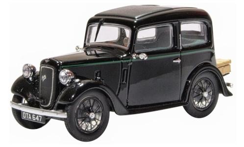 Austin 7 Ruby Saloon, schwarz, RHD, 1:43, Oxford - voiture miniature - Model Car World