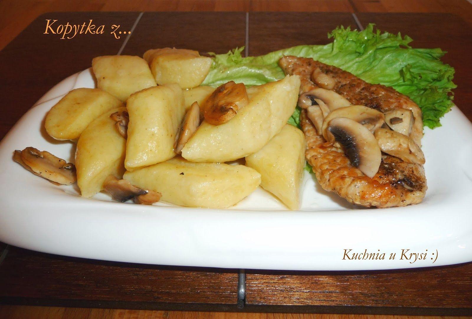 Kuchnia U Krysi Kopytka Przepis Niezawodny Food Recipes Food And Drink