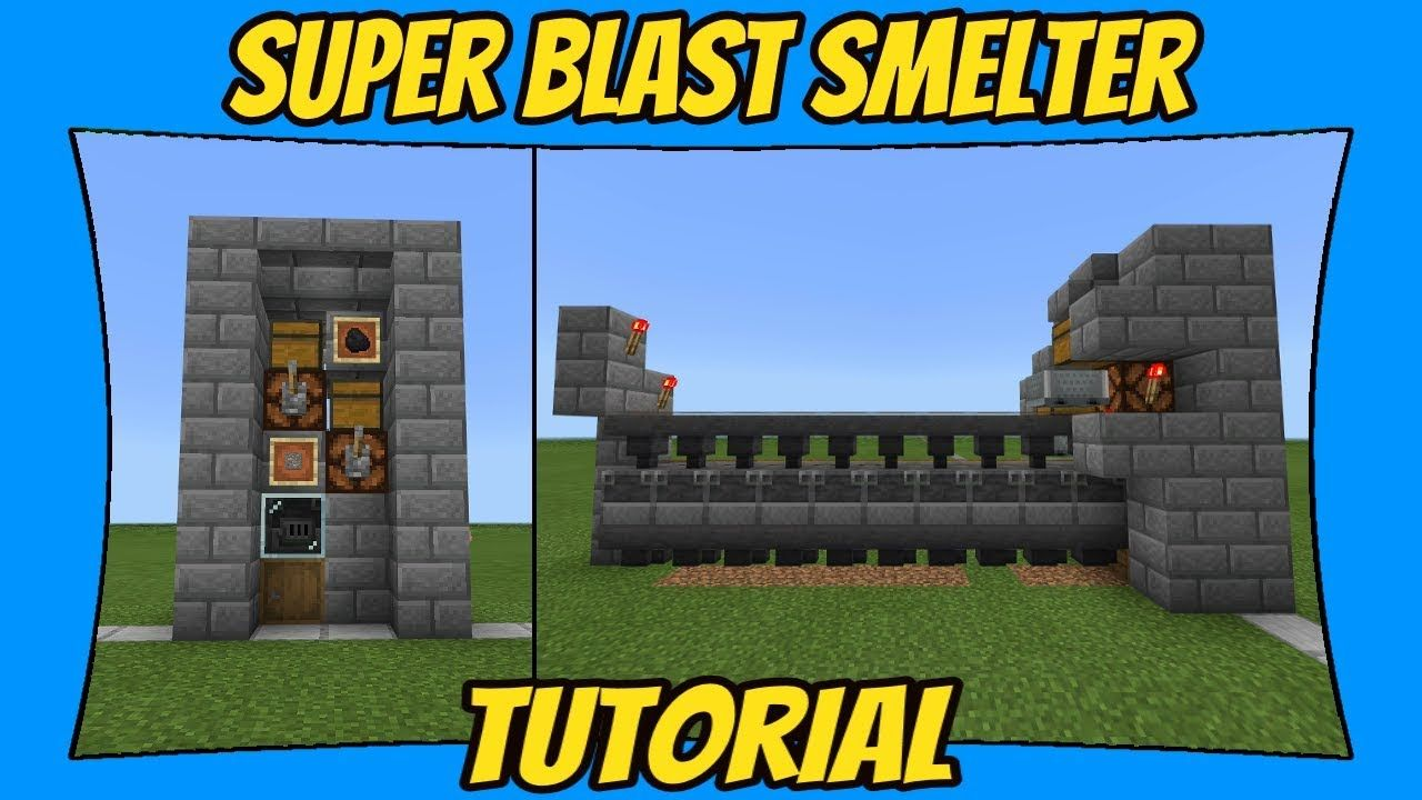 How To Make A Super Smelter 1.14