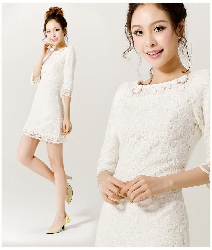 f2d7e509b5b05 Details about Free NEW Korean fashion Princess Thin shoulder wedding ...