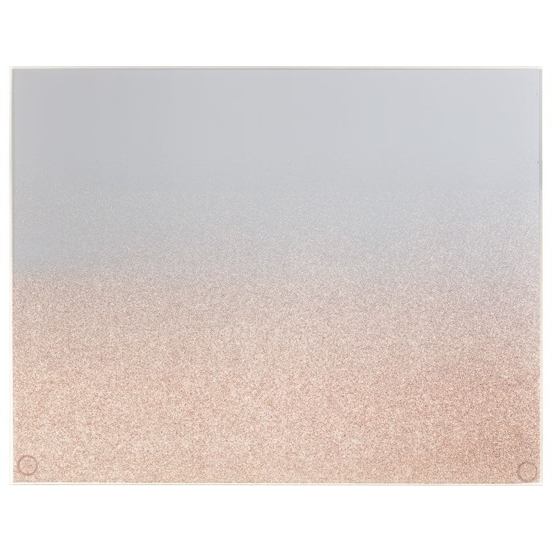Rose Gold Ombre Glitter Placemats 2pk Tableware B M Glitter