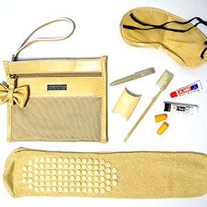 Coolest Airline Amenity Kits   Via Travel + Leisure
