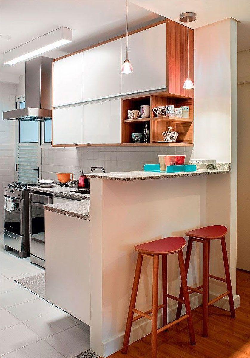 Cozinha Americana Pequena 60 Projetos Para Se Inspirar Ideia