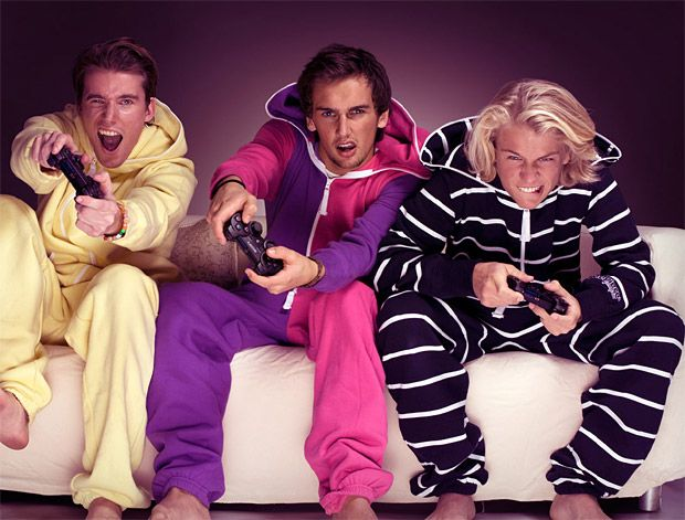 Onesies For Adults. Put in an extra long double headed zipper at center  front for guys. cc2b061b6