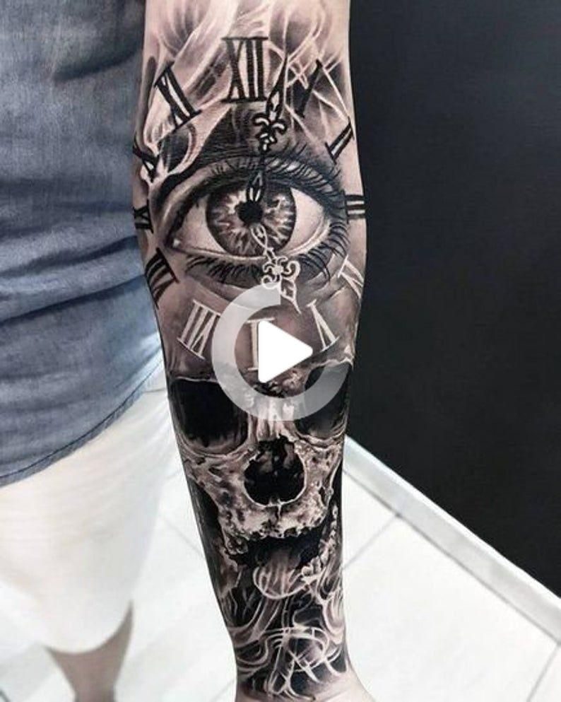 Hacer Tatuajes Temporales In 2020 Full Sleeve Tattoos Make Temporary Tattoo Full Sleeve Tattoo Design
