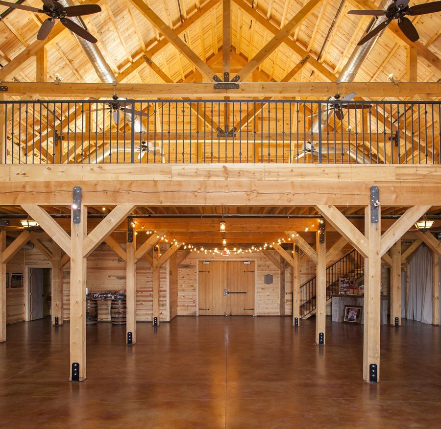 Commercial Post Beam Barns Sand Creek Post Beam Barn House Plans Barn Interior Barn Plans
