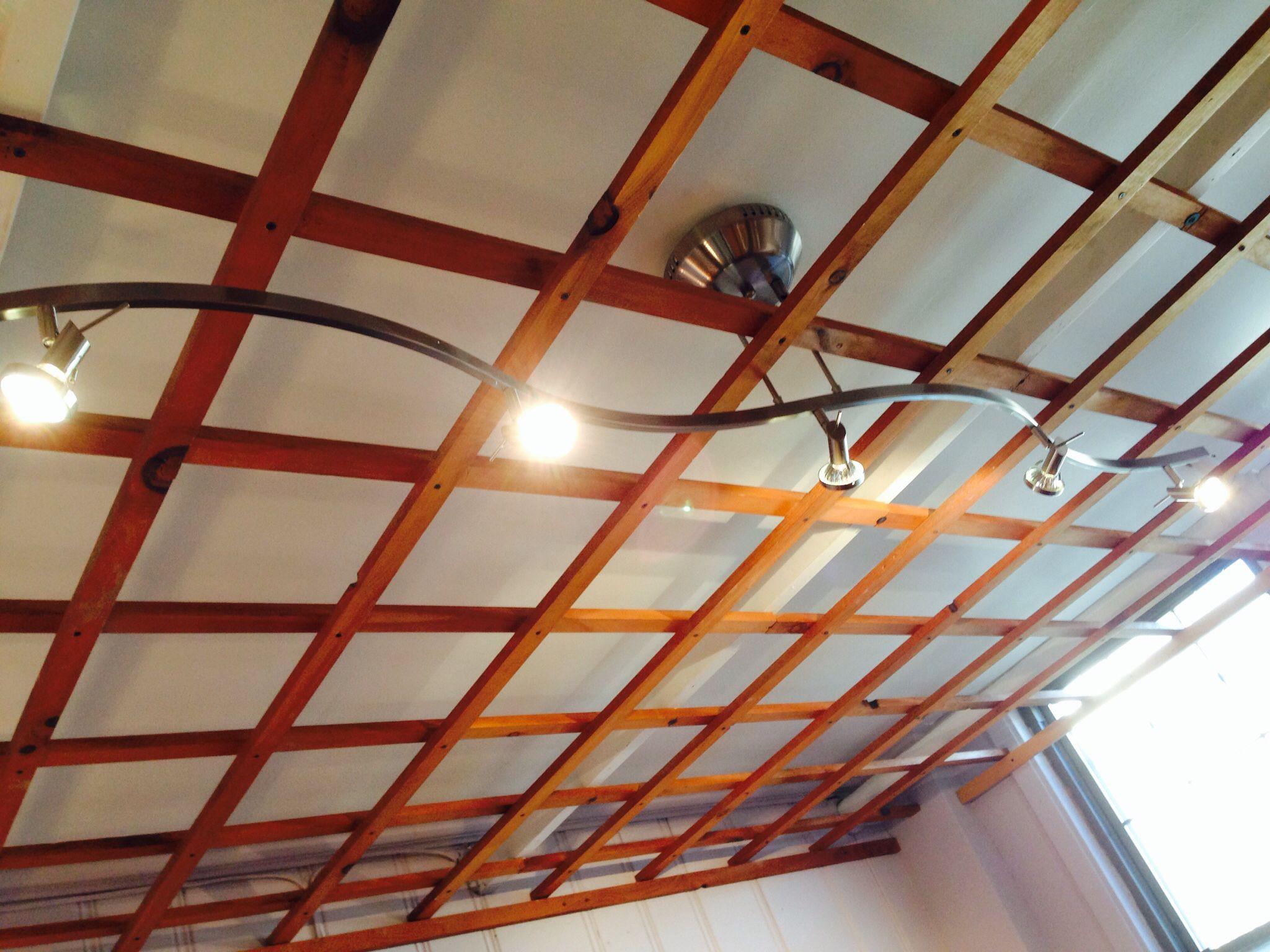 How To Open Drop Ceiling Light Fixture