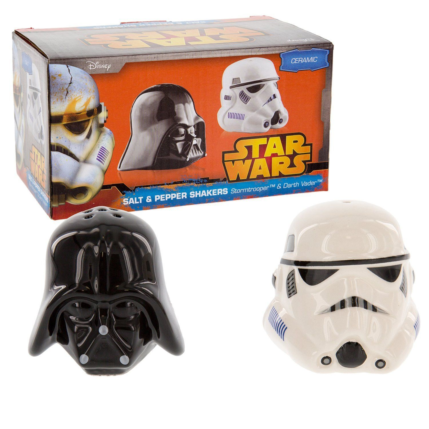 Star Wars Küchenutensilien Star Wars Salt Pepper Shakers Darth Vader Stormtrooper Salt