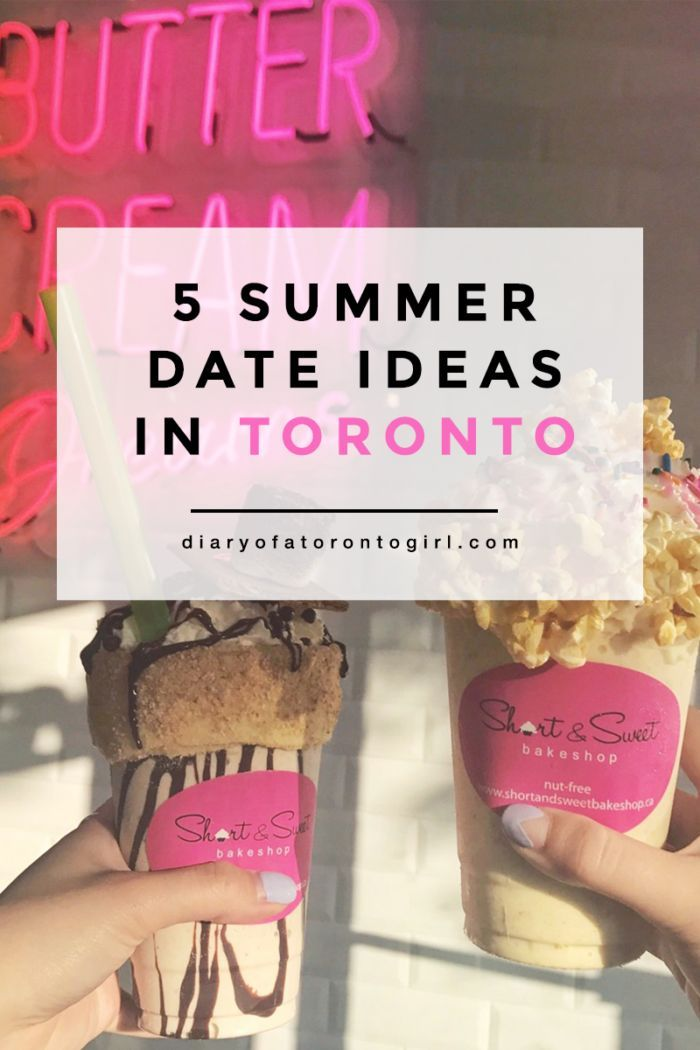 Date ideas in toronto summer