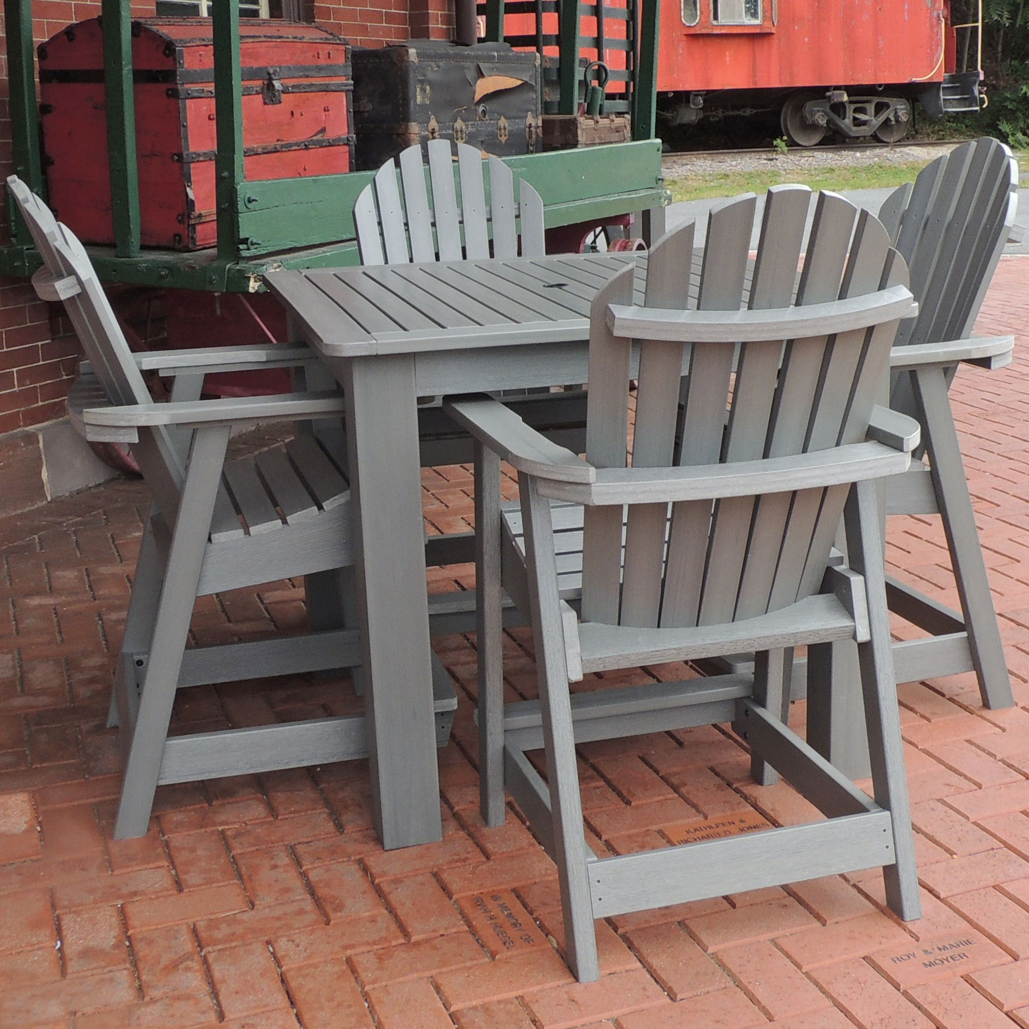 Hamilton 5 Piece Counter Height Dining Set (With images