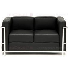 Le Corbusier Chair Lc2 Sofa Black Leather 2 Seater Its A Stylish And Less Space Occupy Sofas Love Seat Luxury Sofa Modern Petite Loveseat
