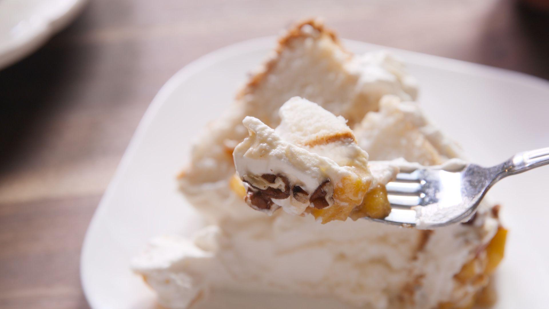 Peach angel food cake recipe