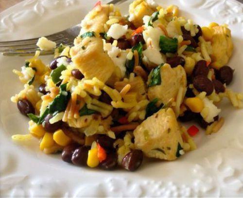 Chicken Foods-Fiesta #Chicken and Rice Recipe