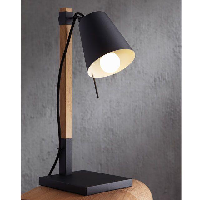 39 40 Euros Lampe A Poser Liber Marron Castorama Avec Images Lamp Castorama Lampe A Poser