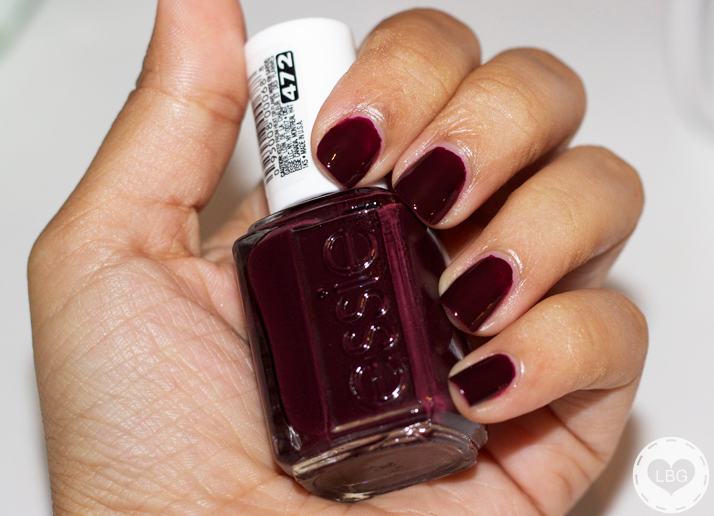 Essie Nail Polish Wicked My Favorite Fall Winter Color