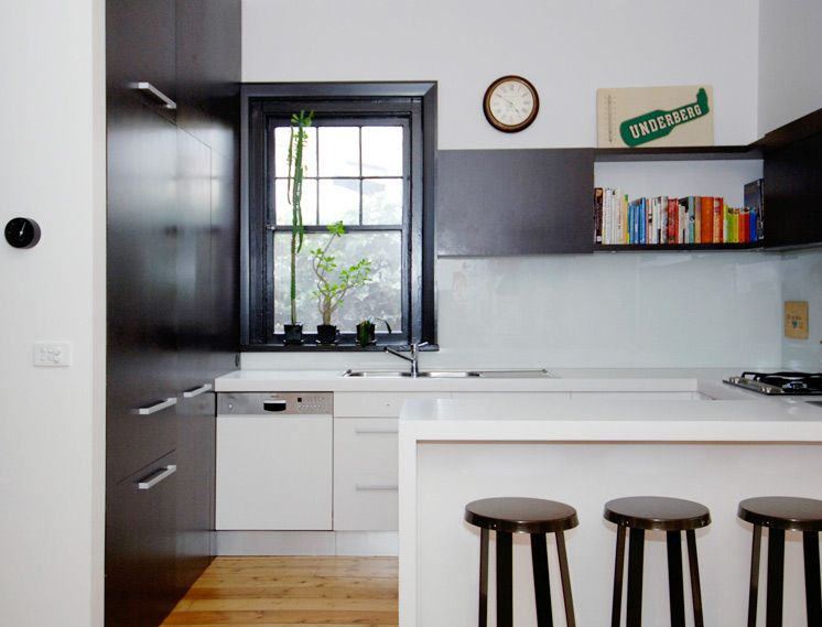 kitchen by Zwei Interior Architecture