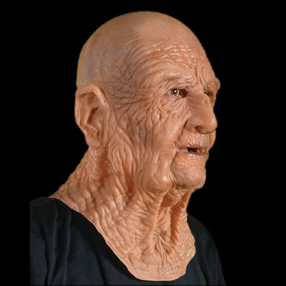 DOA Old Man Mask | Masking, Latex halloween masks and Products