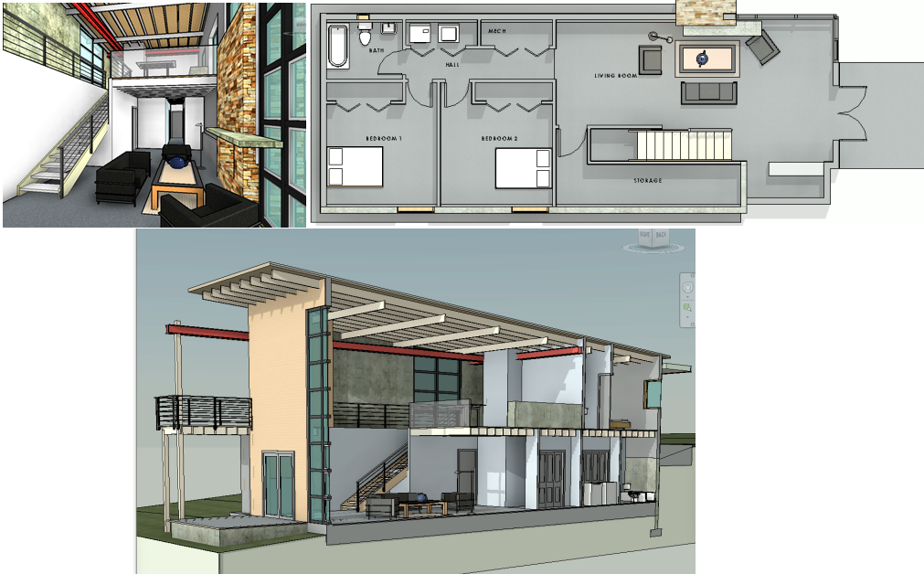 Creating Better Shaded Views From Revit Views Architecture Student Architecture