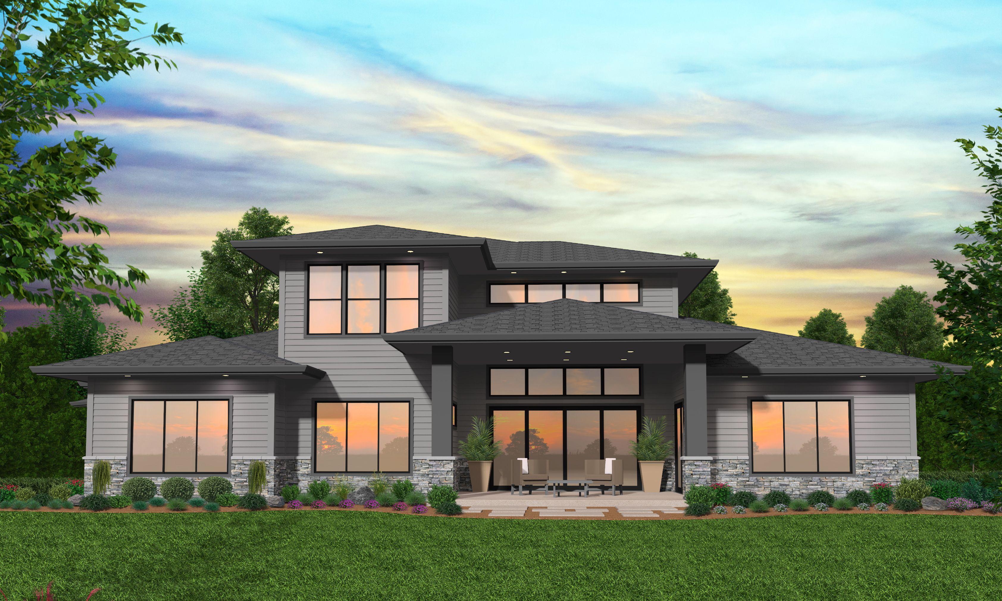 Modern Prairie Style Homes Prairie Style Houses Prairie Style