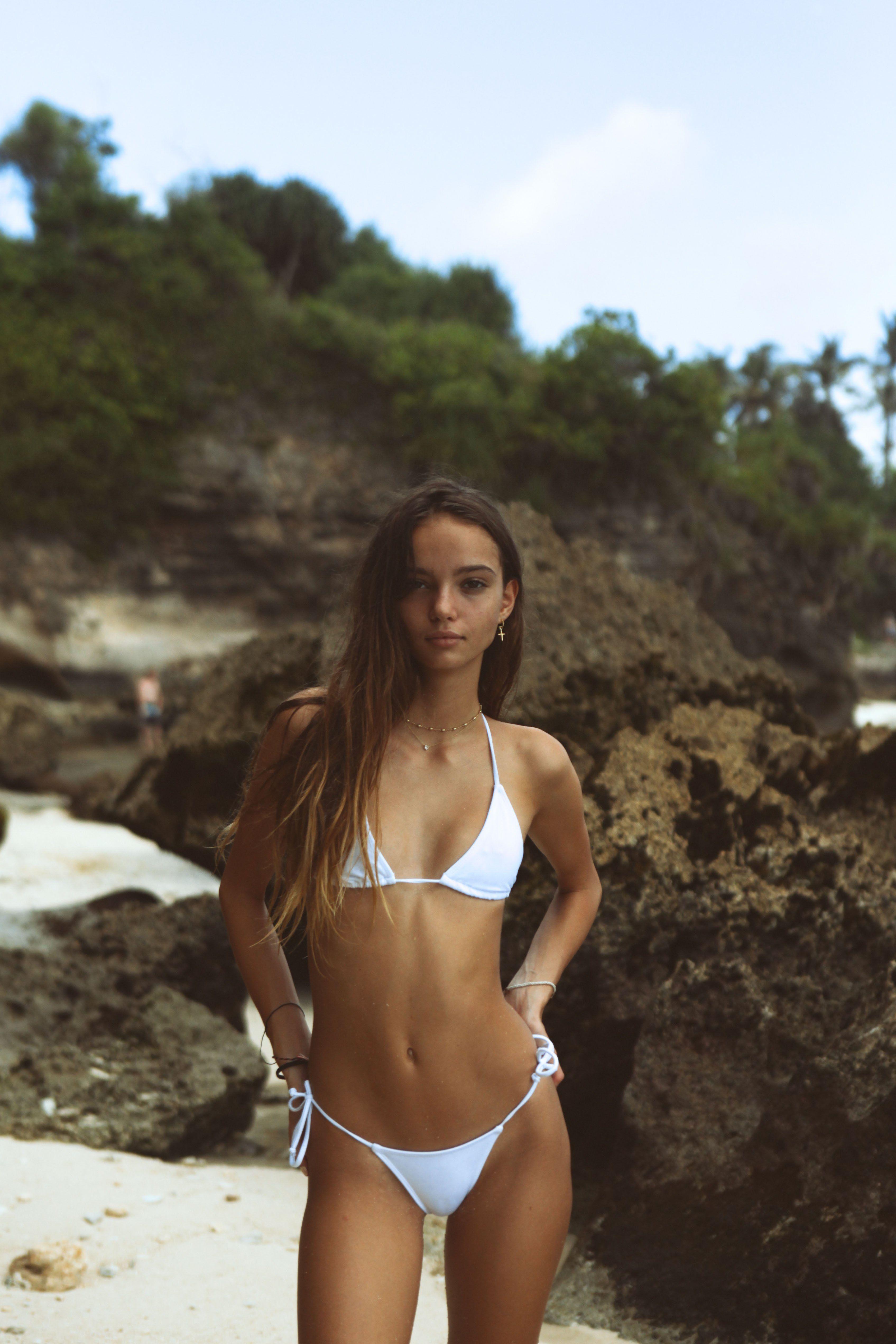 5336c64f57b Inka Williams White Bikinis, String Bikinis, Thong Bikini, Rafael Nadal,  Swimwear,