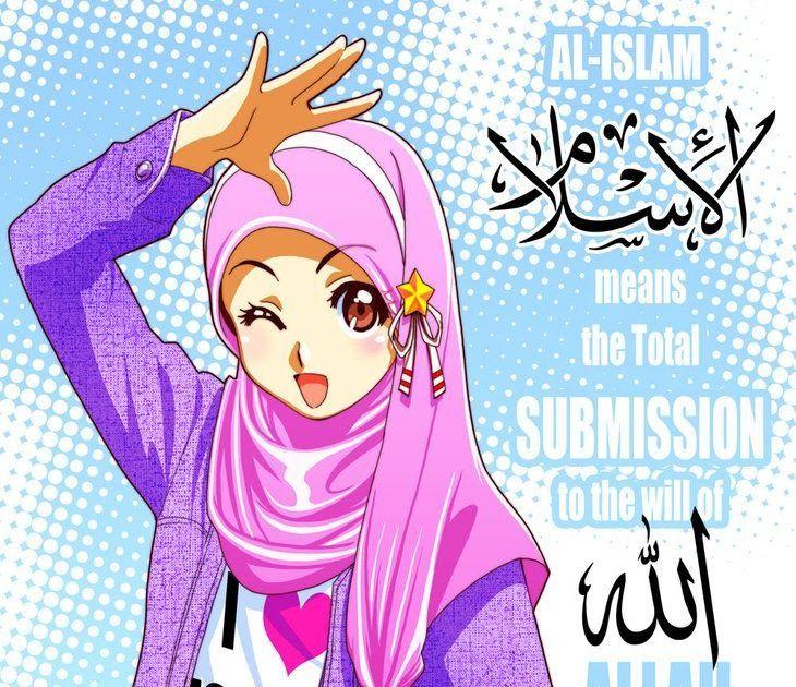 19+ Gambar Kartun Muslimah Terbaik di 2020 Kartun lucu