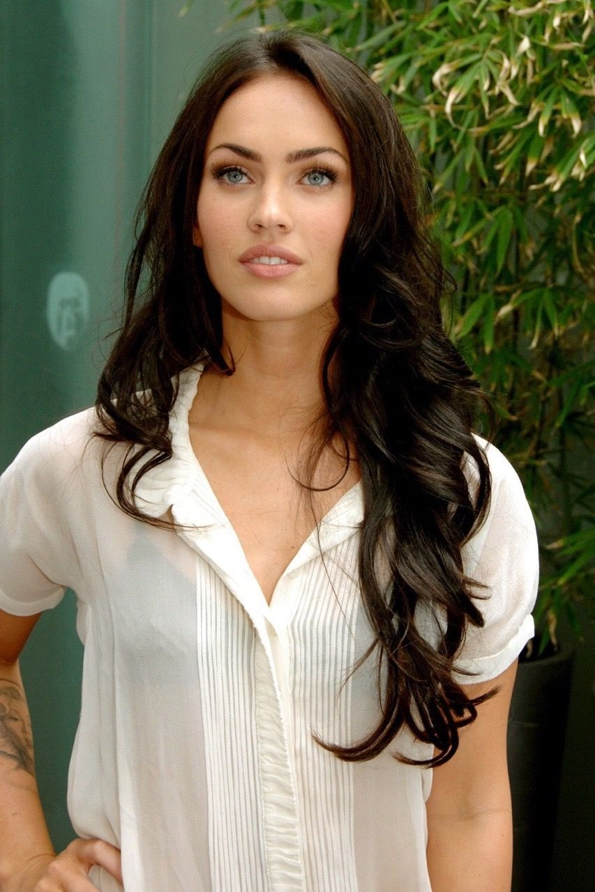 Megan Fox Meganfox Megan Fox Hair Gorgeous Hair Long