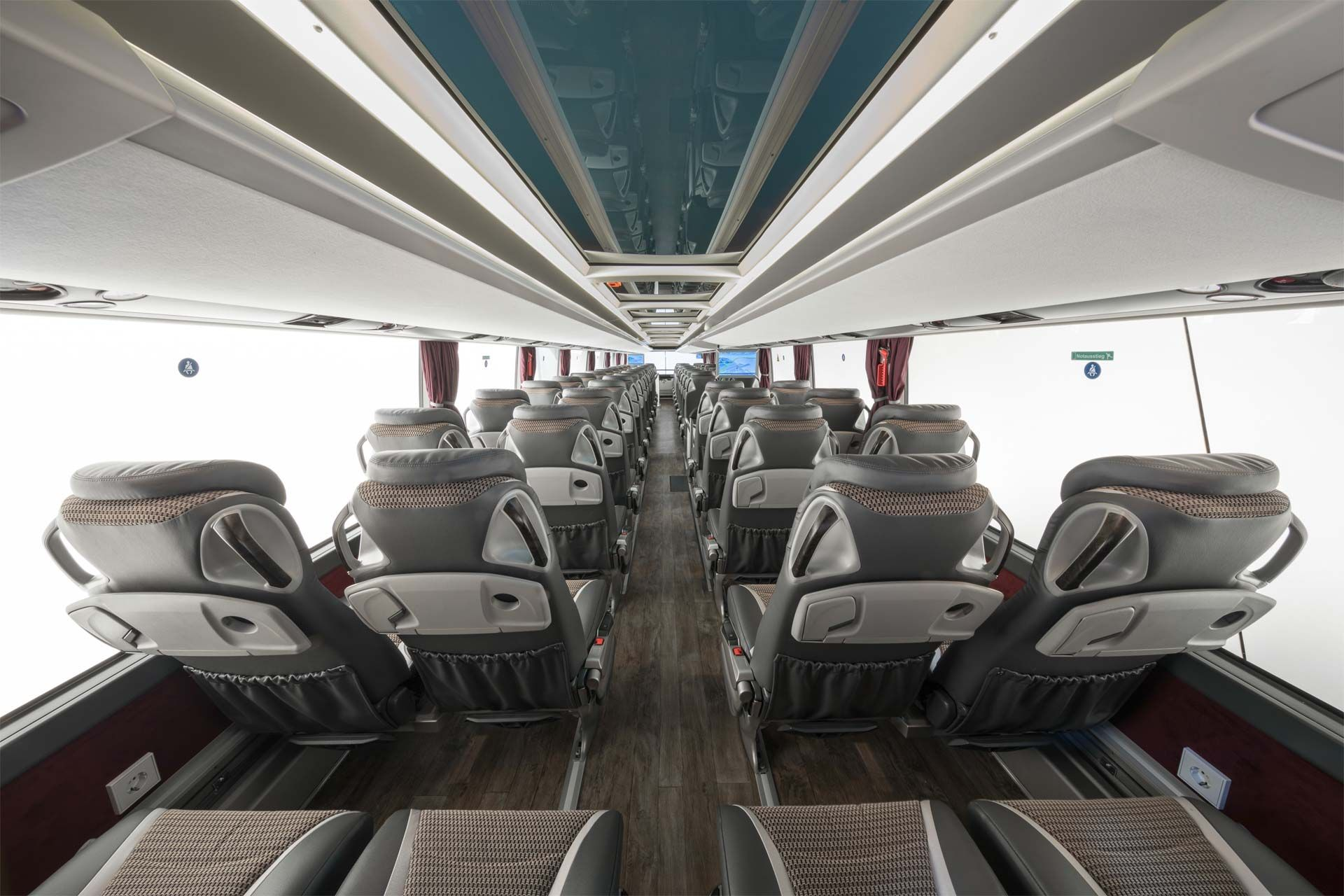 Setra S 531 Dt Double Decker Premieres In Stuttgart Bus Interior