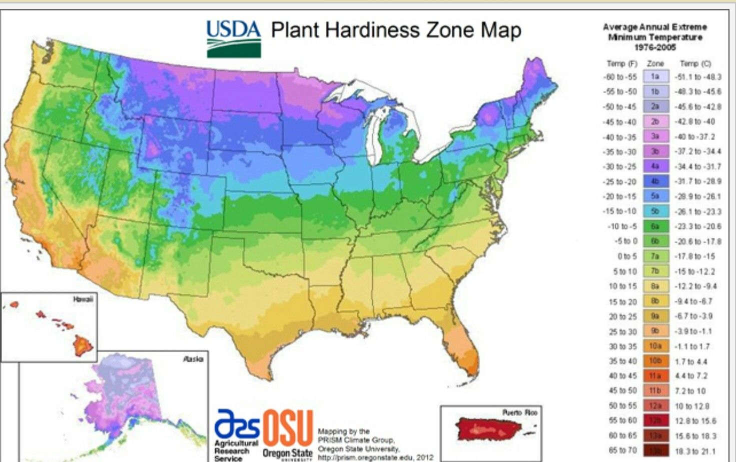 Pin By Carol Ross On Garden Zones Temps