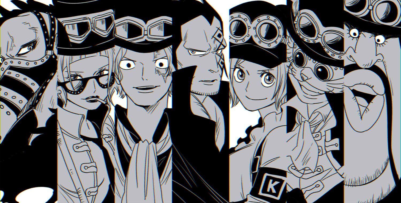 Minoru Op, ONE PIECE, Belo Betty, Sabo, Monkey D. Dragon, Lindbergh (One Piece), Morley (One ...