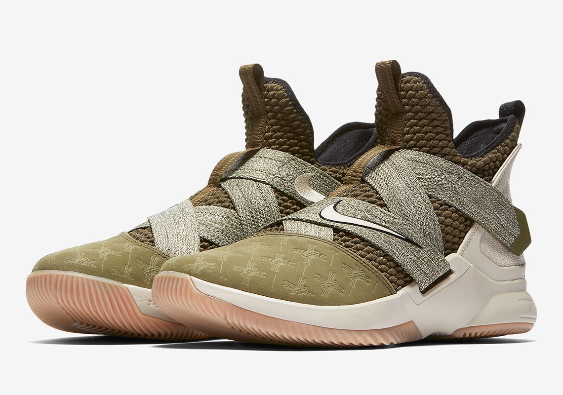 new styles f5f2b 74eeb Nike LeBron Soldier 12 Land And Sea AO2609-300 | that DOPE ...