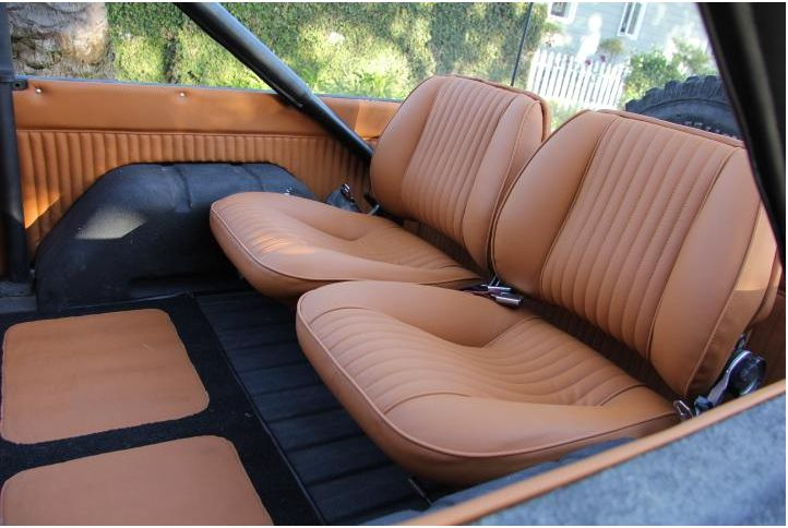 Rear Seats From A Jaguar Early Bronco Ford Bronco Bronco