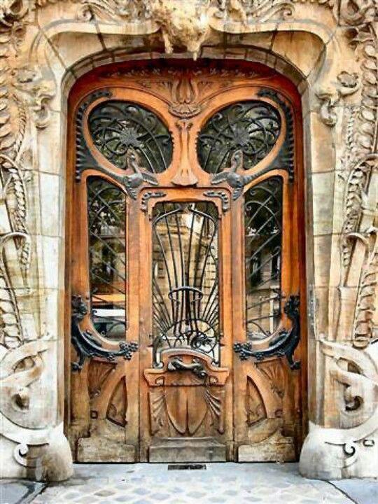 Sweet Door Art Nouveau Architecture Art Nouveau Unique Doors