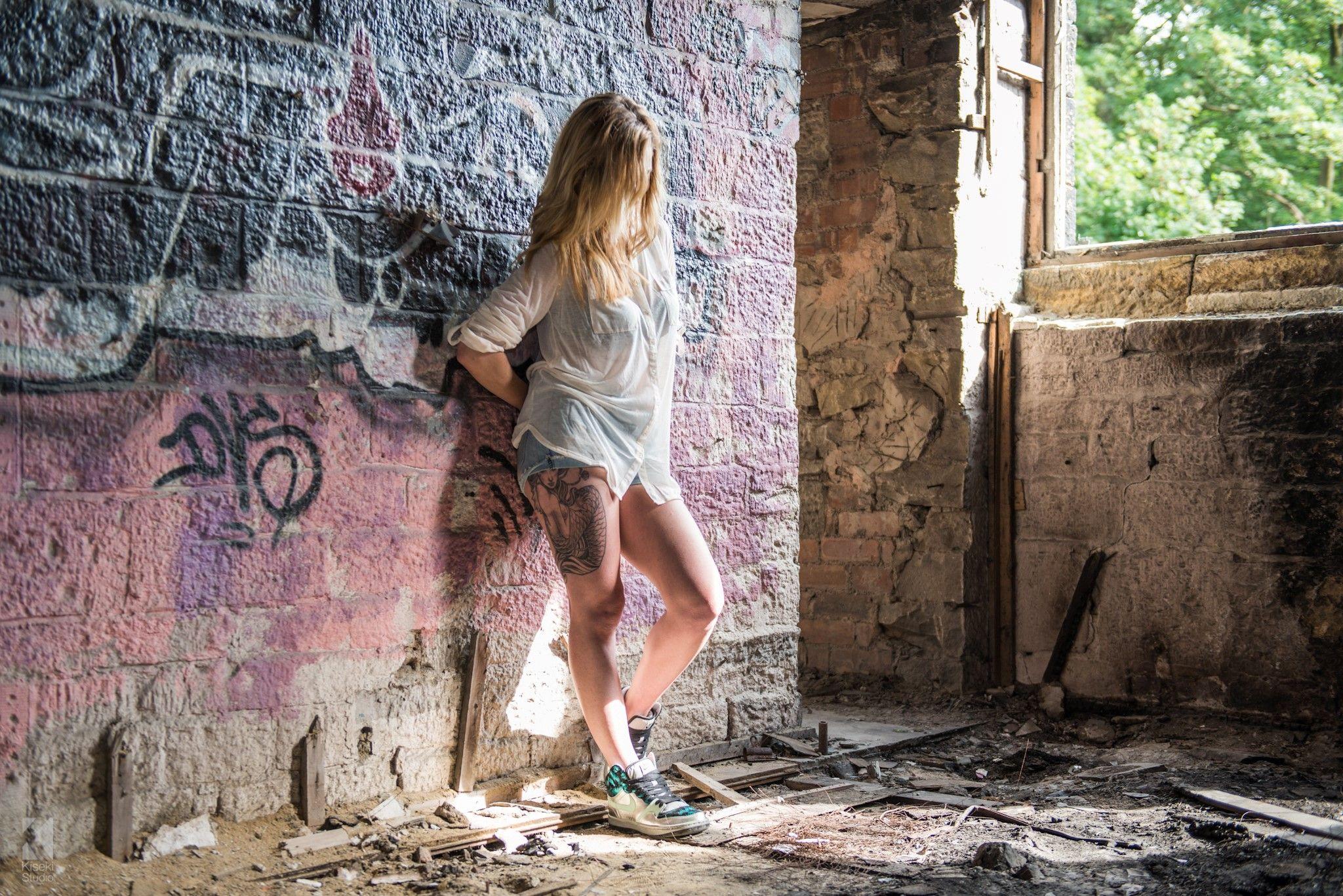 красивые фотосессии в развалинах делать, если