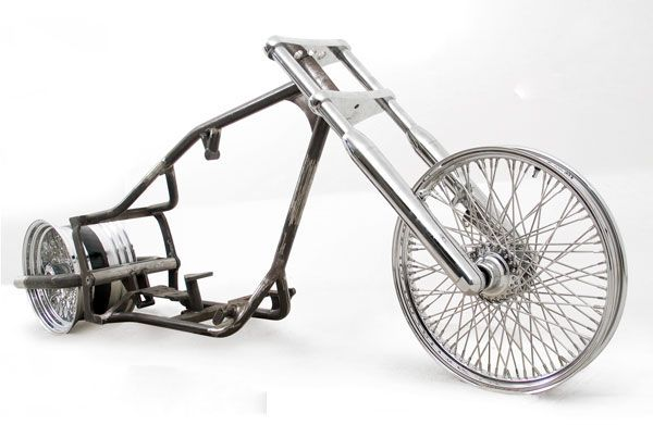 300 Pro-Street DropSeat Rolling Chassis for Harley