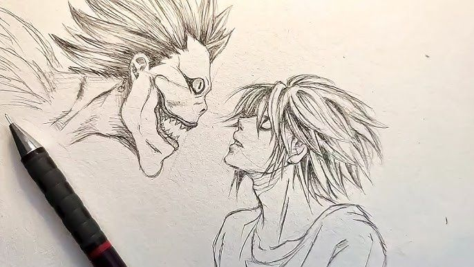 Photo of L And Ryuk Death Note