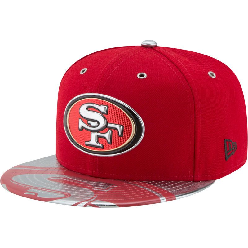 size 40 74545 23c1b San Francisco 49ers New Era 2017 NFL Draft Spotlight 59FIFTY Fitted Hat -  Scarlet