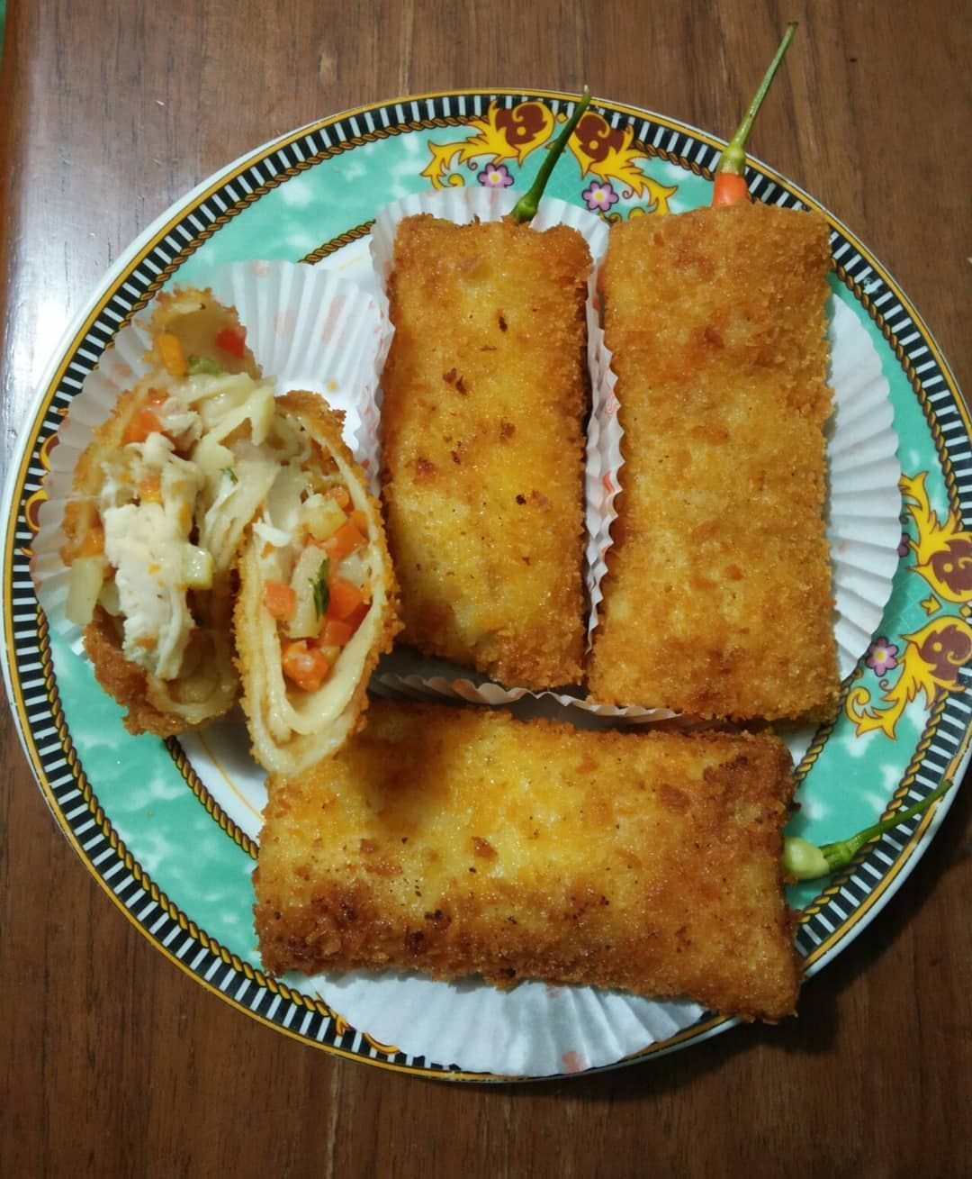 You Know Its So Yummmyyy Hii My Happy Tummy You Know Its So Yummmyyy Hii My Happy Tummy Risoles Food Happy Cooking Hobbyma Happy Cook Food Cooking