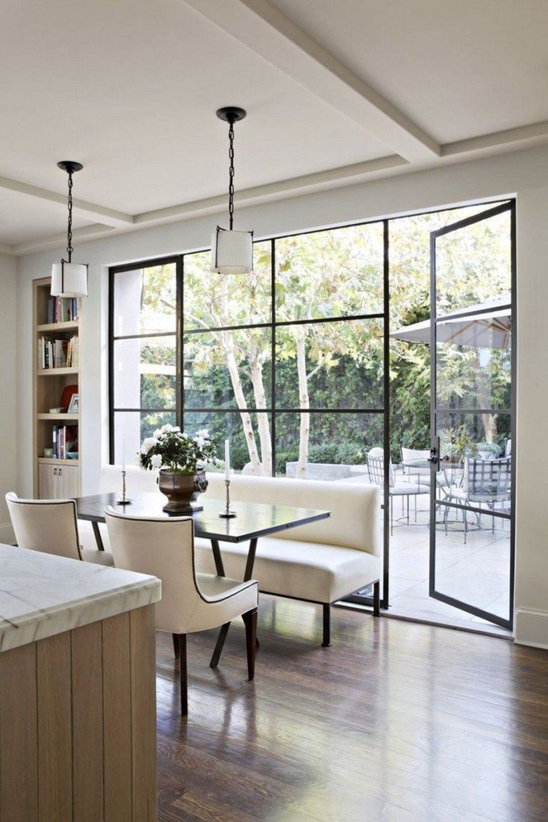 47 beautiful kitchen window ideas for every style and space house 13 french doors interior on kitchen interior with window id=88903
