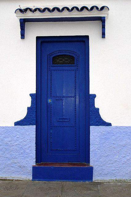Asilah - blue door, via Flickr ~