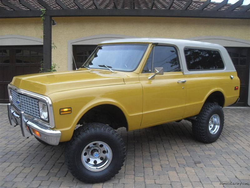 1972 Chevy K5 Blazer I Have Wanted One Of These For As Long As