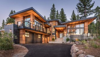 Searching For A Luxury Custom Home For You And Your Family Martis Camp Offers A Camp Cust House Designs Exterior Architecture House Modern Mountain Home
