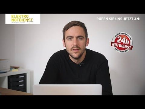 Elektriker Notdienst Berlin | Ihr 24 Stunden Elektroservice