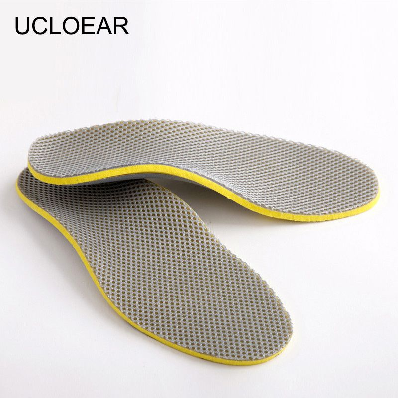 Ultra Thin Deodorant Insole Leather Pigskin Breath Absorb Sweat Shoe Pad Hot QL