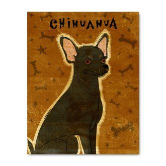 14 in. Chihuahua Print - Black at the Foundary