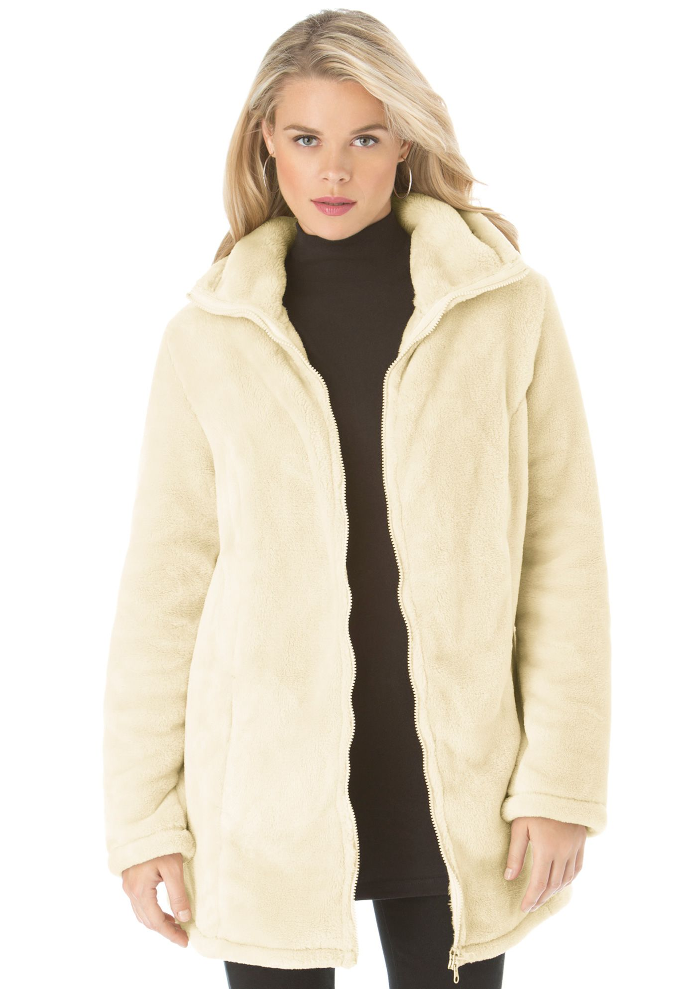 fe635fa503c Teddy Fleece Coat